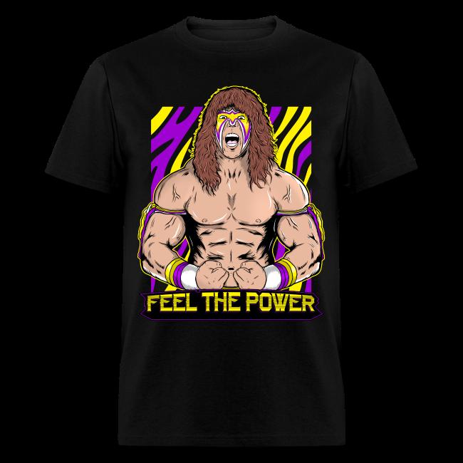 Ultimate Warrior Feel The Power Shirt