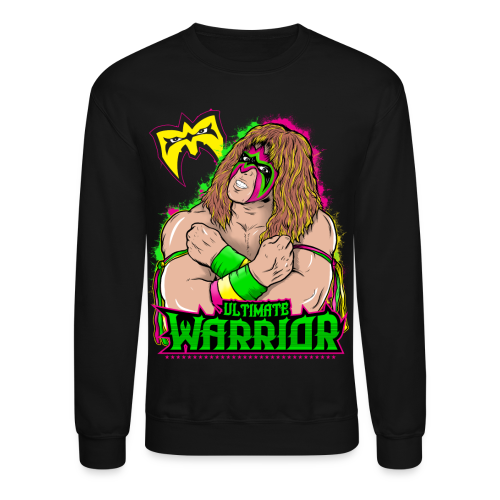 Ultimate Warrior Legendary Sweatshirt - Crewneck Sweatshirt