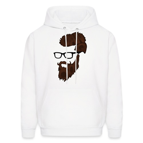 DanQ8000 Beard Logo Hoodie (2017 Edition) - Men's - Men's Hoodie