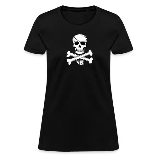 WOMENS   Skull & Bones VB - Women's T-Shirt