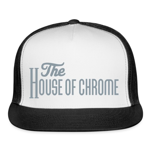 The House of Chrome Hat in Chrome Foil - Trucker Cap