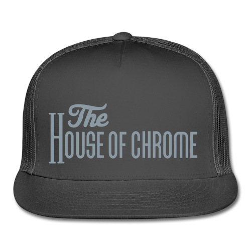 The House of Chrome Hat in Chrome Foil - Trucker Cap