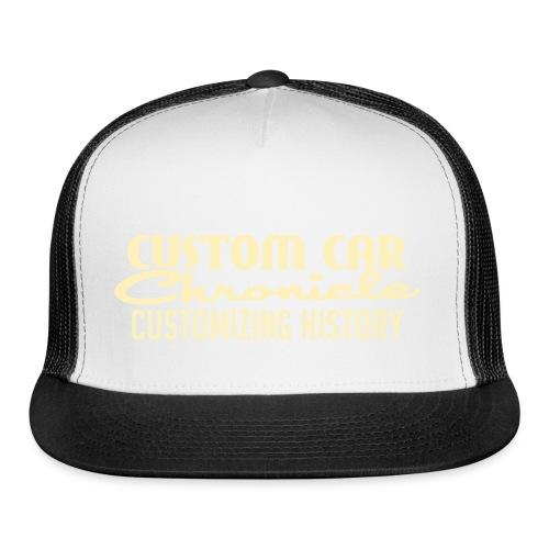 Custom Car Chronicle for Dark Hat - Trucker Cap