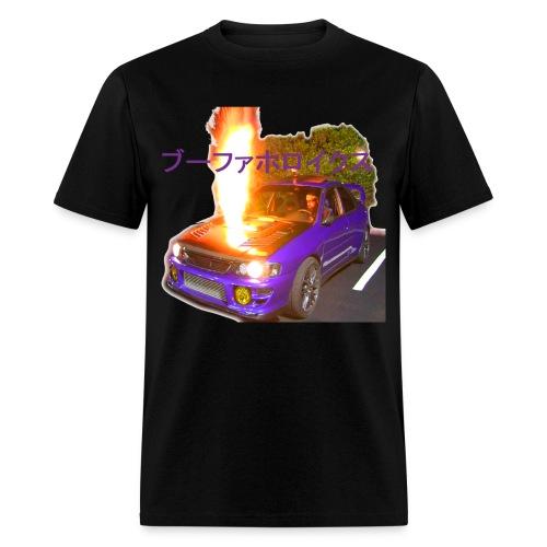 #Boostaholics fire shot GC8 - Men's T-Shirt