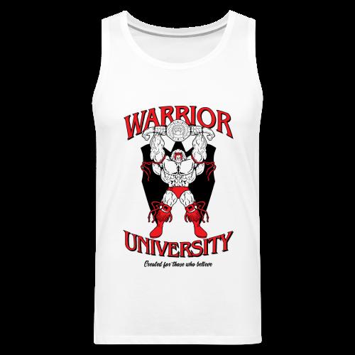 Ultimate Warrior Warrior University Tank Top - Men's Premium Tank