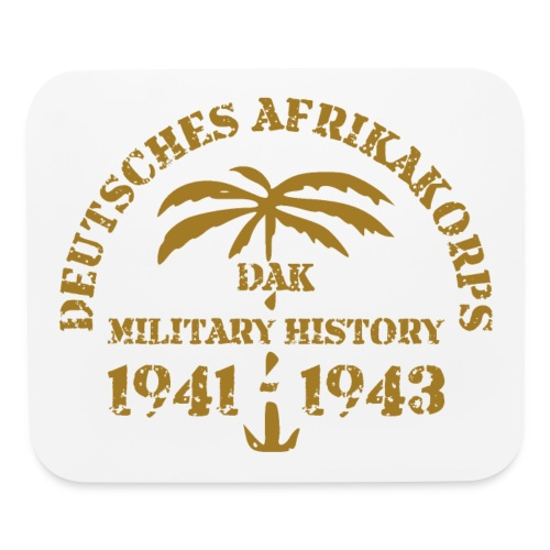 Afrikakorps - Mouse pad Horizontal