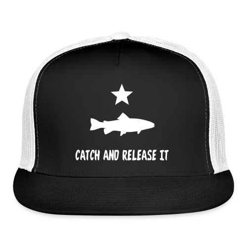 Texas Trout Fishing Snapback - Trucker Cap