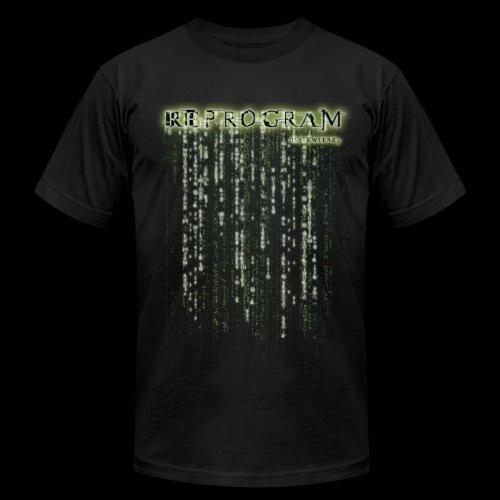 REPROGRAM (Double Sided Design) - Men's Fine Jersey T-Shirt