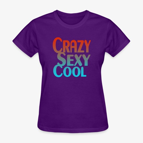 CrazySexyCool - Women's T-Shirt
