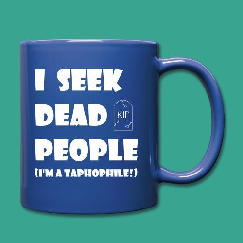 Taphophile Mug - Full Color Mug