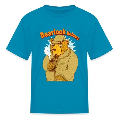 bearlock holmes - Kids' T-Shirt