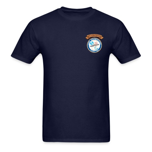 USS ENTERPRISE CVAN-65 PLANKOWNER CREST SHIRT - Men's T-Shirt