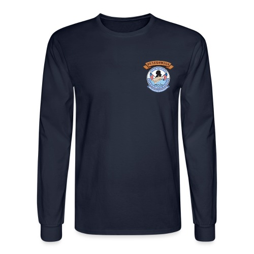 USS GEORGE WASHINGTON PLANKOWNER CREST LONG SLEEVE SHIRT - Men's Long Sleeve T-Shirt