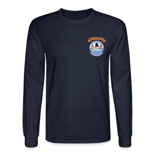 USS GEORGE WASHINGTON PLANKOWNER CREST LONG SLEEVE SHIRT - Men's Long Sleeve T-Shirt