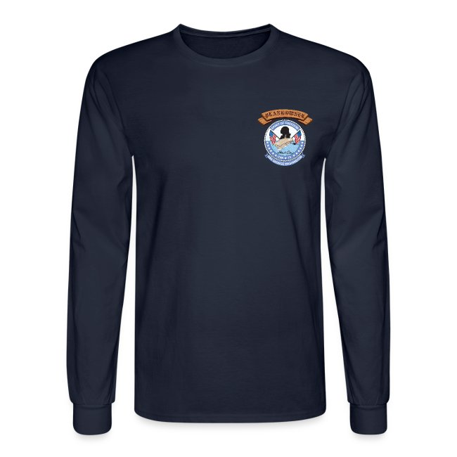 USS GEORGE WASHINGTON PLANKOWNER CREST LONG SLEEVE SHIRT