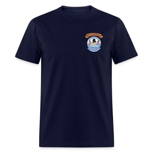 USS GEORGE WASHINGTON PLANKOWNER CREST SHIRT - Men's T-Shirt