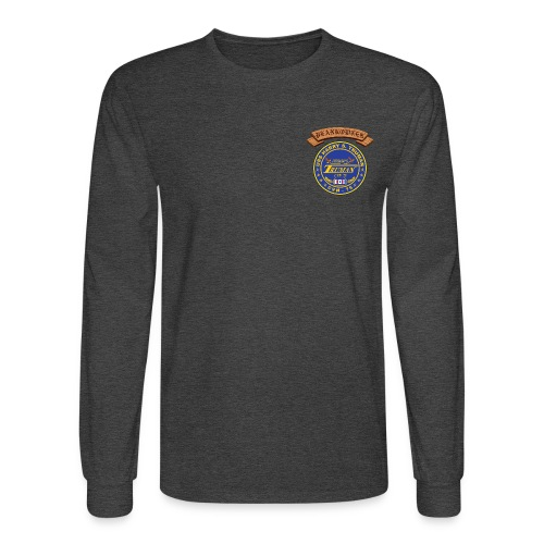 USS HARRY S TRUMAN PLANKOWNER CREST LONG SLEEVE SHIRT - Men's Long Sleeve T-Shirt