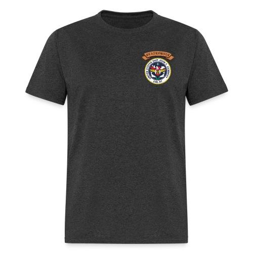 USS JOHN F KENNEDY PLANKOWNER CREST SHIRT - Men's T-Shirt