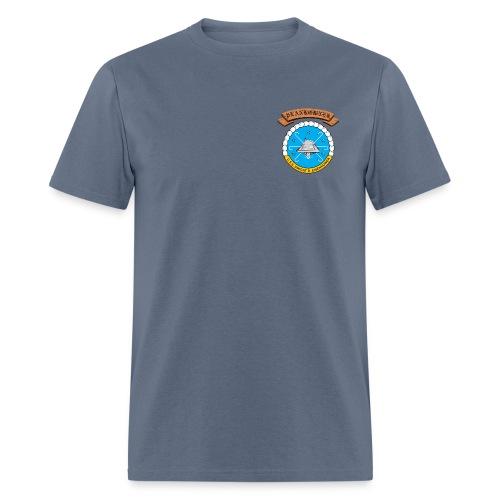 USS DWIGHT D EISENHOWER PLANKOWNER CREST SHIRT - Men's T-Shirt