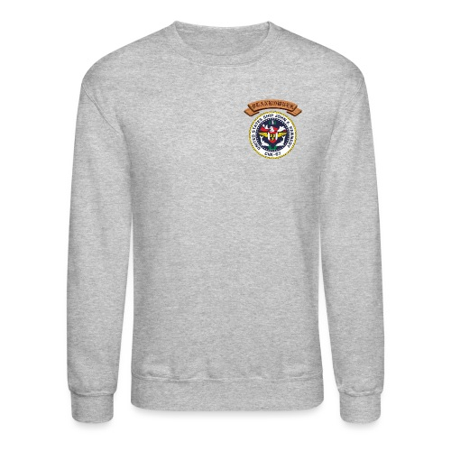 USS JOHN F KENNEDY PLANKOWNER CREST SWEATSHIRT - Crewneck Sweatshirt
