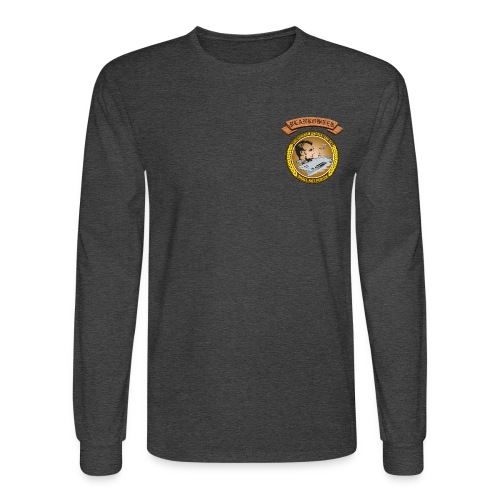 USS ABRAHAM LINCOLN PLANKOWNER CREST LONG SLEEVE SHIRT - Men's Long Sleeve T-Shirt