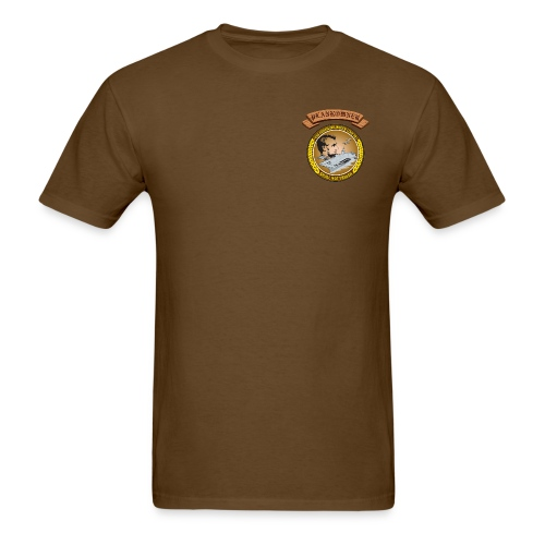 USS ABRAHAM LINCOLN PLANKOWNER CREST SHIRT - Men's T-Shirt