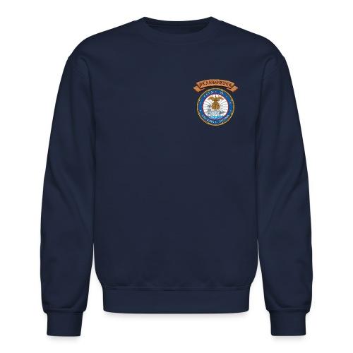 USS JOHN C STENNIS PLANKOWNER CREST SWEATSHIRT - Crewneck Sweatshirt
