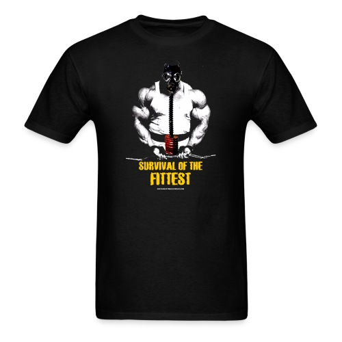 Survival Of The Fittest Survival Of The Fittest  - Men's T-Shirt