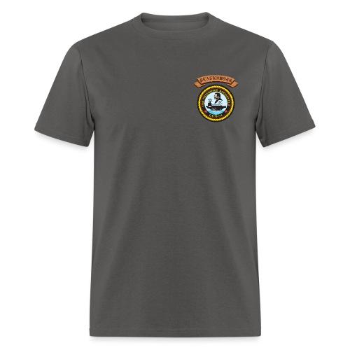 USS THEODORE ROOSEVELT PLANKOWNER CREST SHIRT - Men's T-Shirt