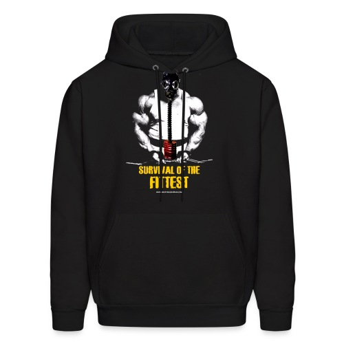 Survival Of The Fittest Men's Hoodie - Men's Hoodie