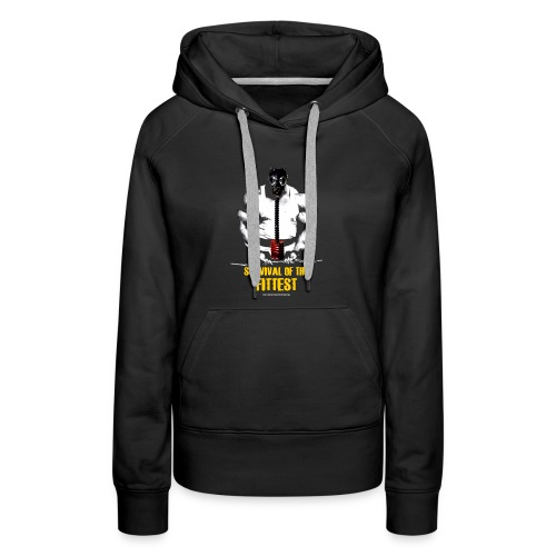 Survival Of The Fittest Women's Premium Hoodie - Women's Premium Hoodie