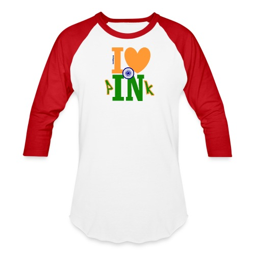 I Love Indian Pink (Wazted Rock) - Baseball - Baseball T-Shirt