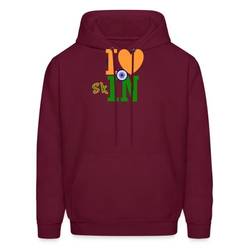 I Love Indian Skin - Hoodie - Men's Hoodie