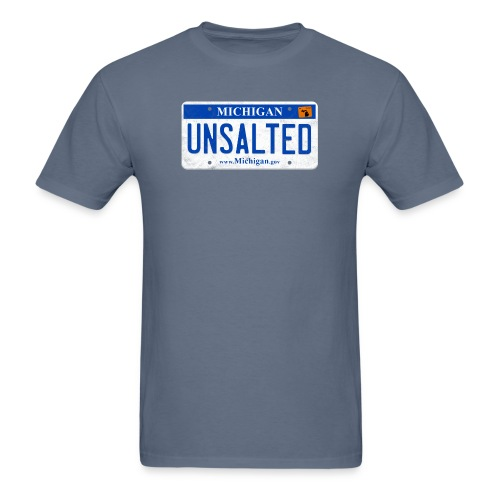 Unsalted License Plate - Men's T-Shirt