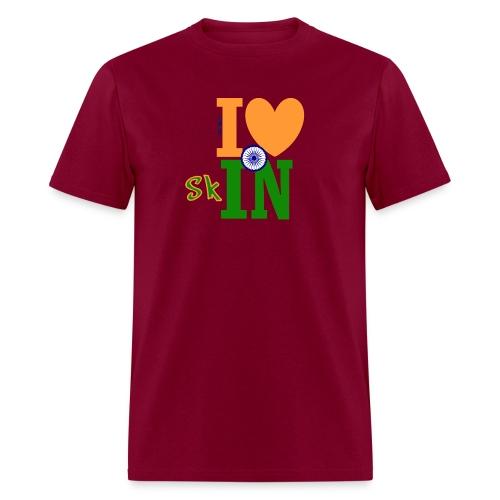 I Love Indian Skin - Men's Tee - Men's T-Shirt