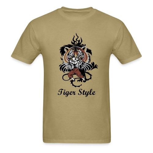 Tiger Style - Men's T-Shirt