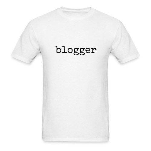 Blogger unisex/men's tshirt - Men's T-Shirt