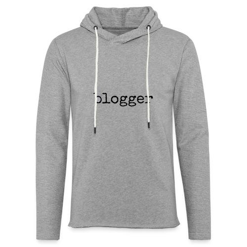 Unisex lightweight hoodie Blogger - Unisex Lightweight Terry Hoodie