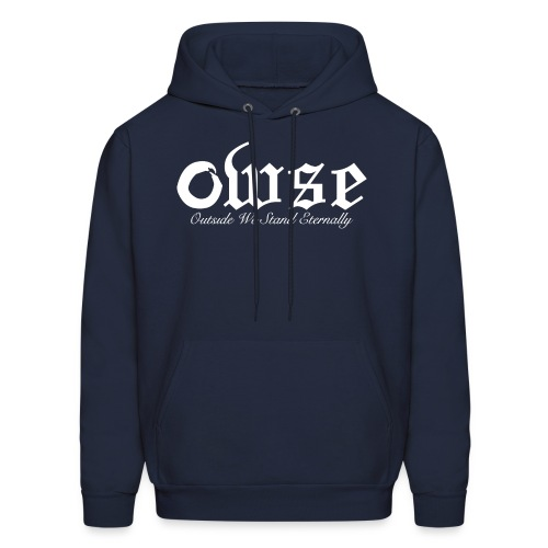 OWSE Logo 2 | Eternally White - Men's Hoodie