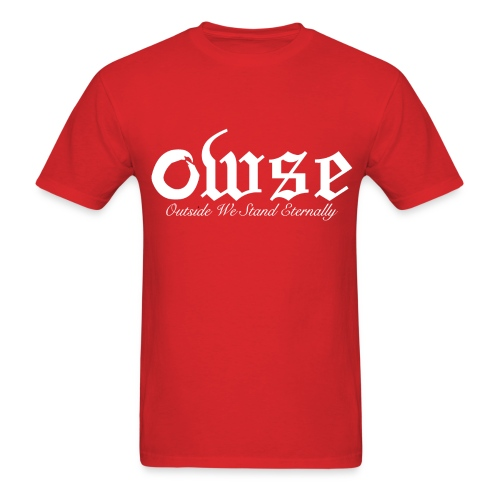 OWSE Logo 2 | Eternally White - Men's T-Shirt