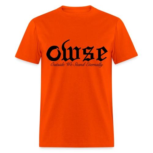 OWSE Logo 2  | Eternally Black - Men's T-Shirt
