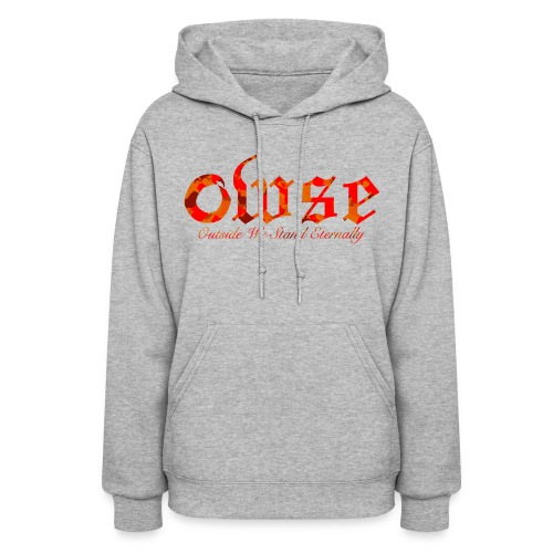 OWSE Logo 2 | Camp Fire Camo - Women's Hoodie