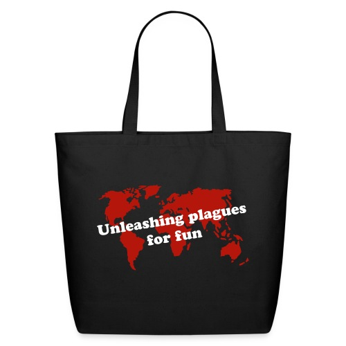 Unleashing plagues for fun tote bag - Eco-Friendly Cotton Tote