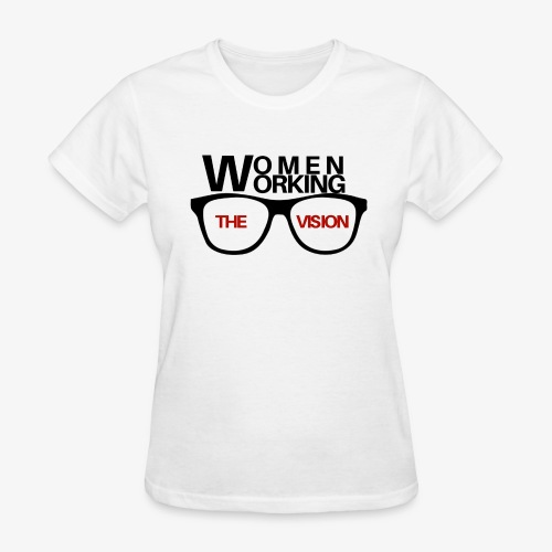 Women Working the Vision Signature Tee - Women's T-Shirt