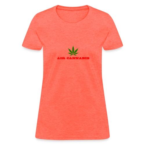 Air Cannabis - Women's T-Shirt
