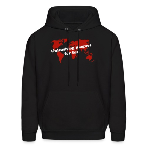 Unleashing plagues for fun - Men's Hoodie