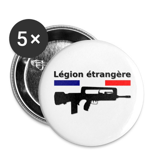 French foreign legion - Legion étrangère - Small Buttons