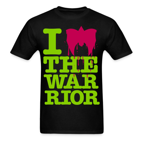 Ultimate Warrior I Love The Warrior Shirt - Men's T-Shirt