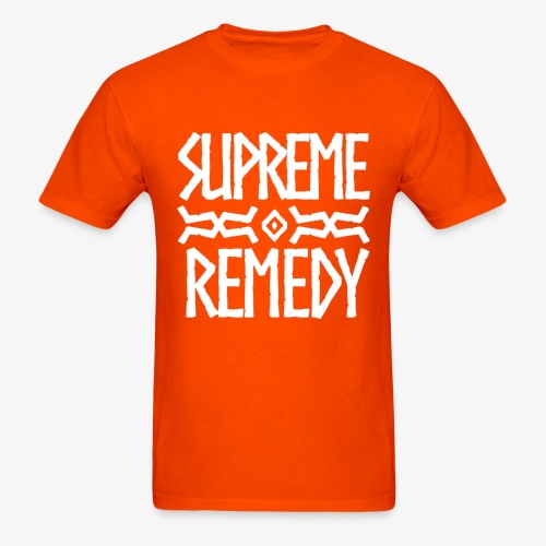 Orange Logo Men's T - Men's T-Shirt