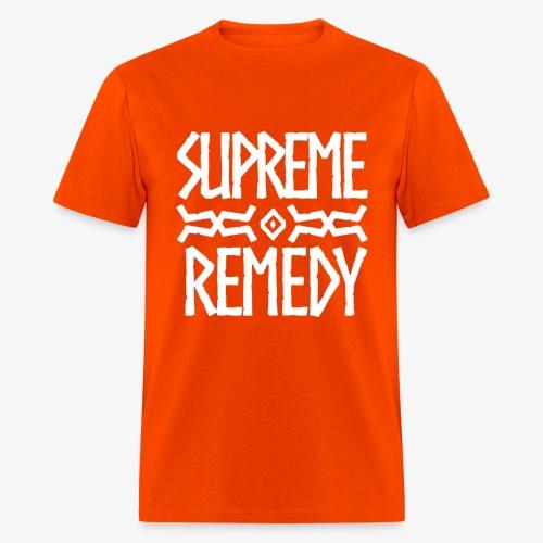 Orange Logo Men's T - Men's T-Shirt